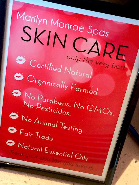 marilyn-monroe-spas-skincare-guidelines