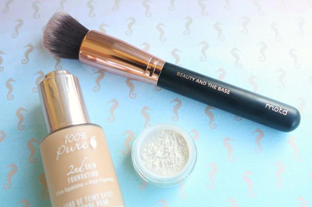 MOTD Brushes Beauty and the Base Foundation Brush