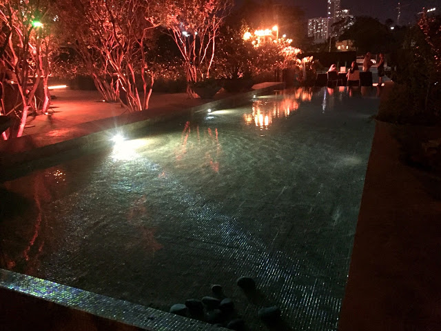 A Magical Evening At Sacred Space Miami reflecting pool