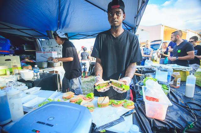 Vegan Sandwiches at Tri-State VegFest