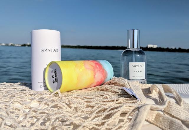 Skylar Natural Fragrance in the Scent Capri
