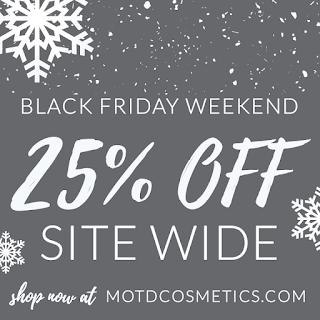 MOTD Cosmetics Black Friday
