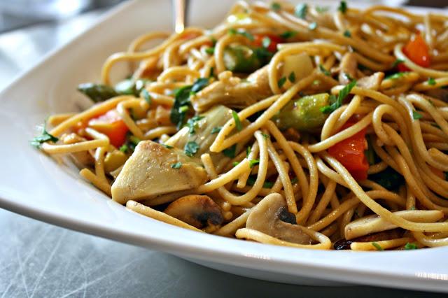 Harv's Healthy Spaghetti