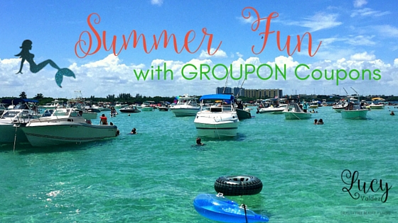 5 Summer Fun Must Haves with GROUPON Coupons blog title