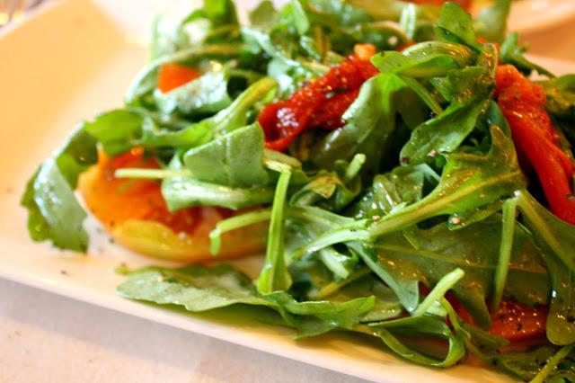Cafe Med Ristorante Tomato & Arugula Salad