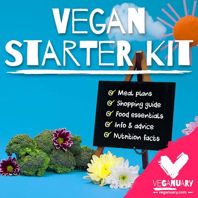 2017 - The Year of the Vegan #Veganuary vegan starter kit
