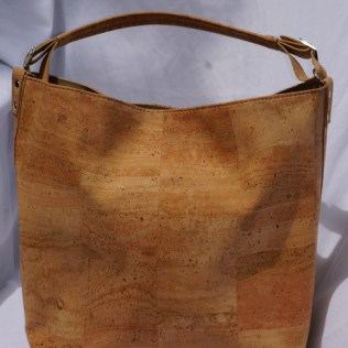 Green Tree Boutiques Cork Boho Handbag made wtih sustainable cork and vegan leather