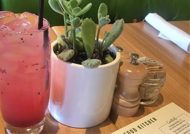 True Food Kitchen Pomegranate Chia Limeade