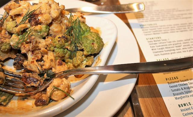 True Food Kitchen Charred Cauliflower is Delicious!