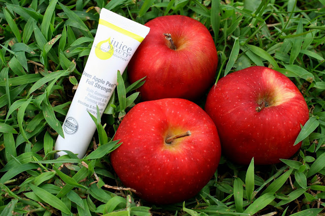 juice beauty green apple peel review