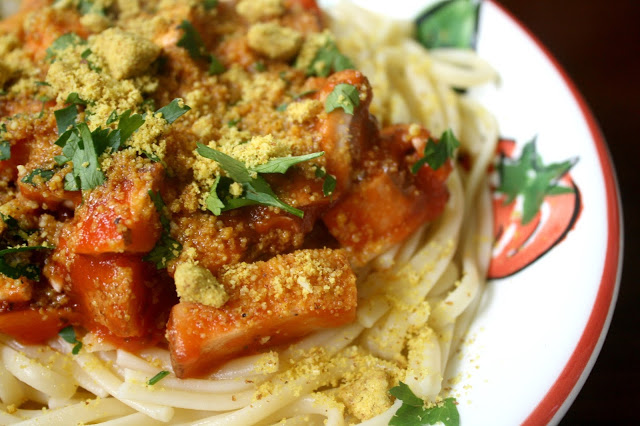 Vegan Parmesan Recipe Favorite Spaghetti Dish