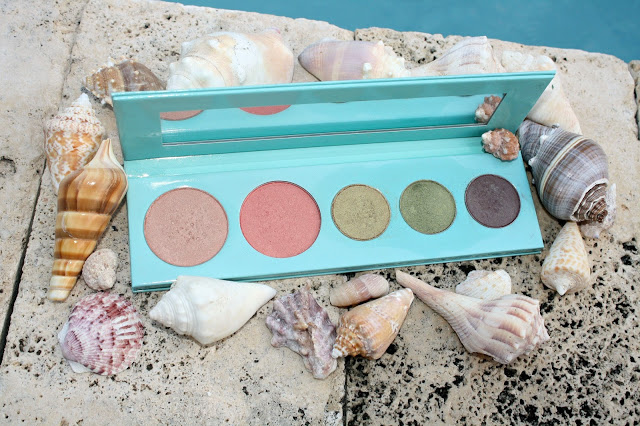 100% Pure Mermaid Palette Product Review & Swatches open package
