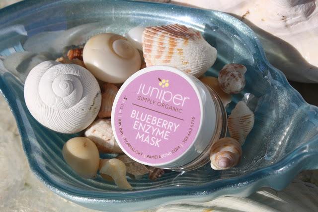 Pamela Bond's Simply Organic Blueberry Enzyme Mask is cruelty free, organic and vegan,