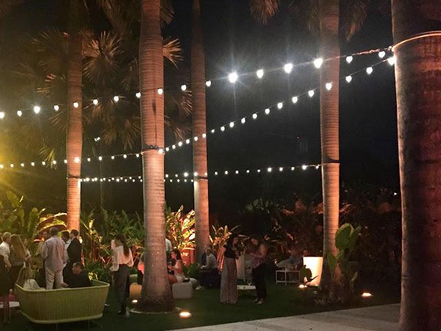 A Magical Evening At Sacred Space Miami garden