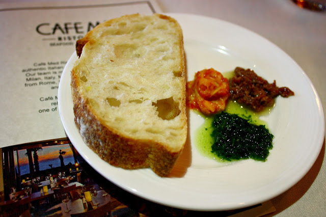Cafe Med Ristorante Bread & Dips