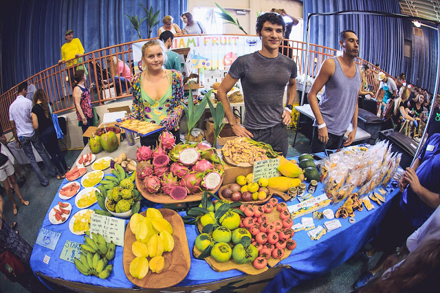 Amazing fruit selection to sample at VegFest Fort Lauderdale