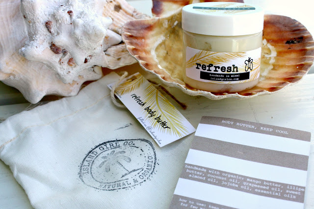 Image of the Island Girl Co. Refresh Body Butter packaging front