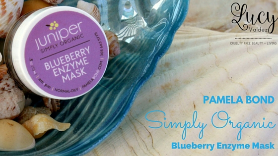 This review is about the Pamela Bond Simply Organic Blueberry Enzyme Mask.