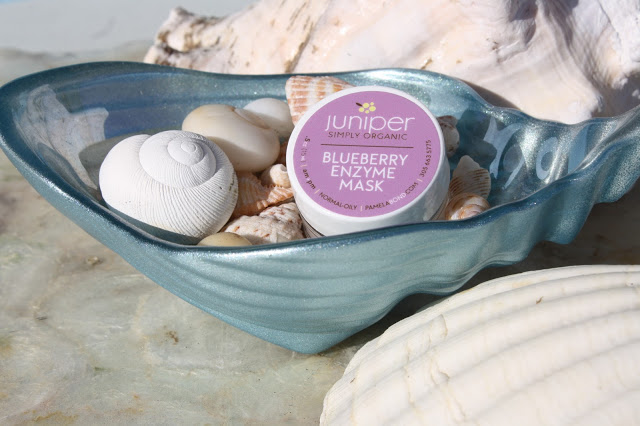 Pamela Bond's Simply Organic Blueberry Enzyme Mask is amazing!