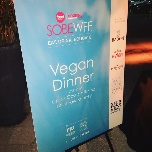 A Magical Evening At Sacred Space Miami vegan dinner