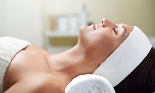 Spa Mani-Pedi with Paraffin, Hot Stone Massage, & Hot Towels on Groupon