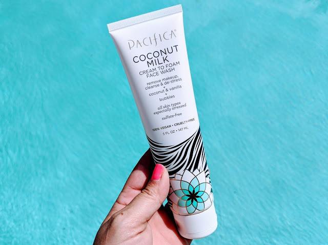 Pacifica Coconut Milk Cream to Foam Face Wash