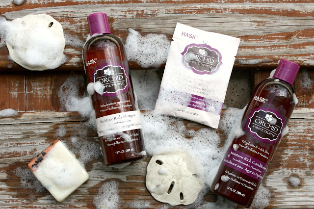 HASK Beauty Orchid & White Truffle Hair Care System