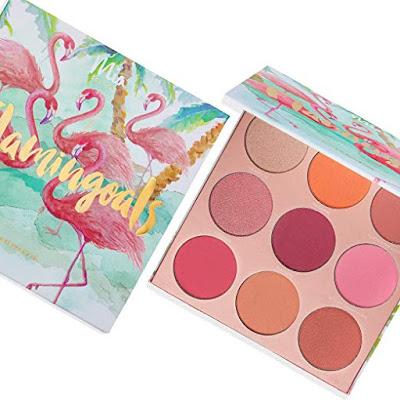 Mia del Mar Beauty Flamingoals Blush Palette