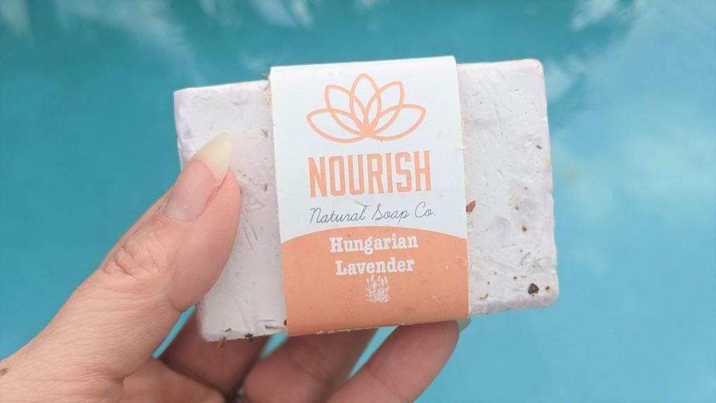 Nourish Natural Soap Co Lavender Soap Bar