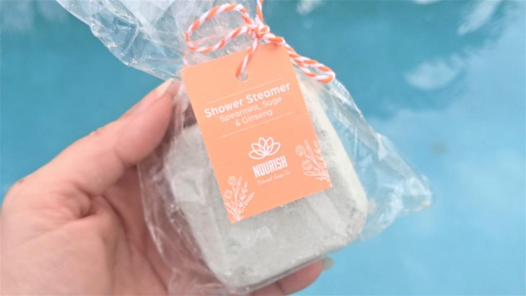 Nourish Natural Soap Co. Shower Steamer