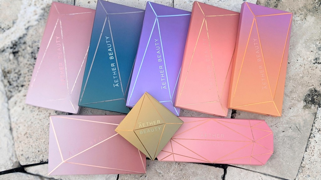 Aether Beauty Palette Collection