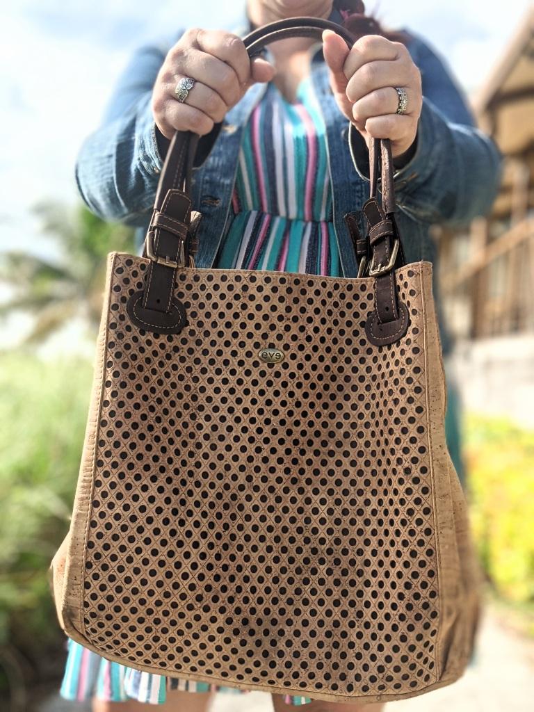 My Eve Cork Bora handbag